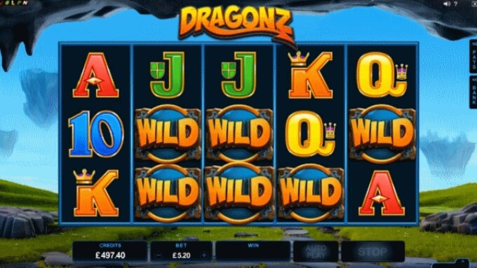 Play Dragonz slot at Rizk and get casino bonus