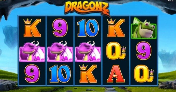 Play Dragonz slot at LeoVegas casino and get bonus