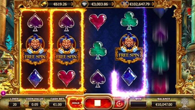 Play Empire Fortune slot at Videoslots casino