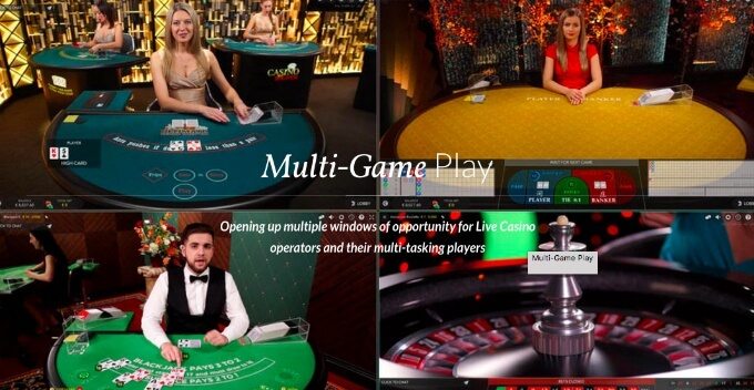 Play Live Games from Evolution at Unibet Casino