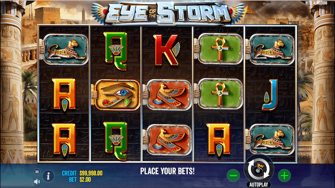 Eye of the Storm Slot Symbols