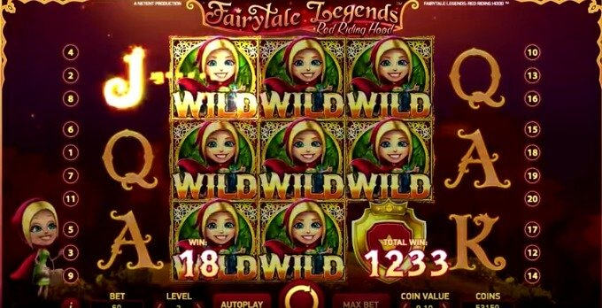 Play FairyTale Legends: Red Riding Hood Slot at Maria Casinno