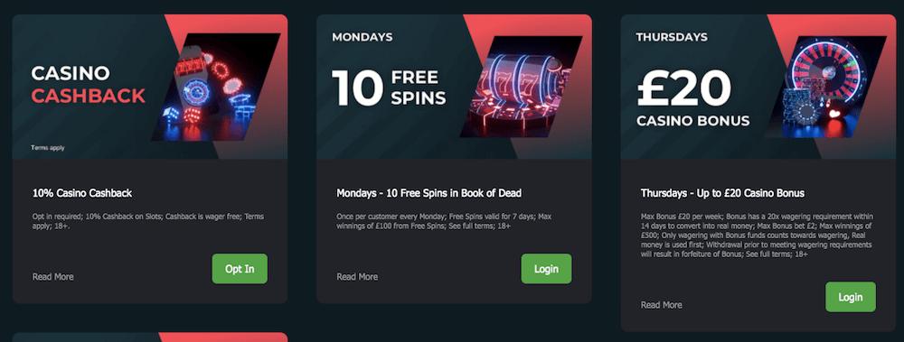 fansbet casino bonus