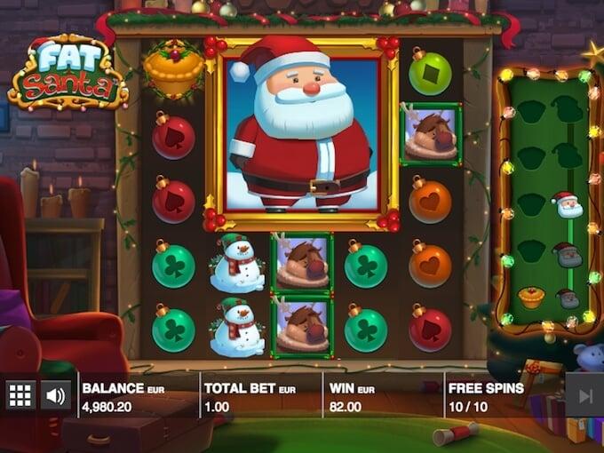 Fat Santa slot free spins
