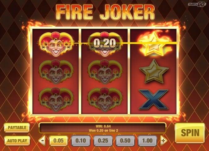 Play Fire Joker slot at Betsafe Casino