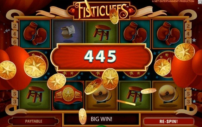 Play Fisticuffs slot at Mr Green Casino