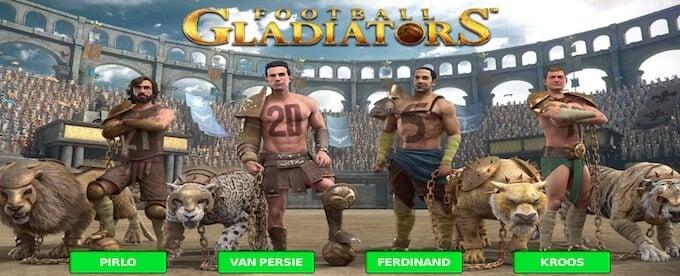 Football Gladiators slot bonus