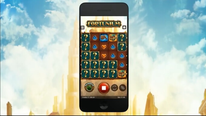 Fortunium slot on mobile