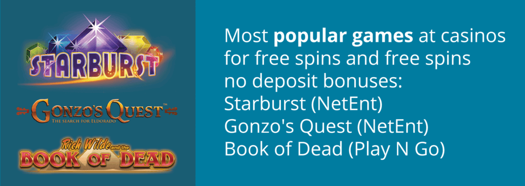 popular slots for free spins