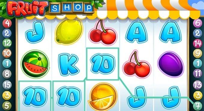Play Fruit Shop slot at Mr Green casino