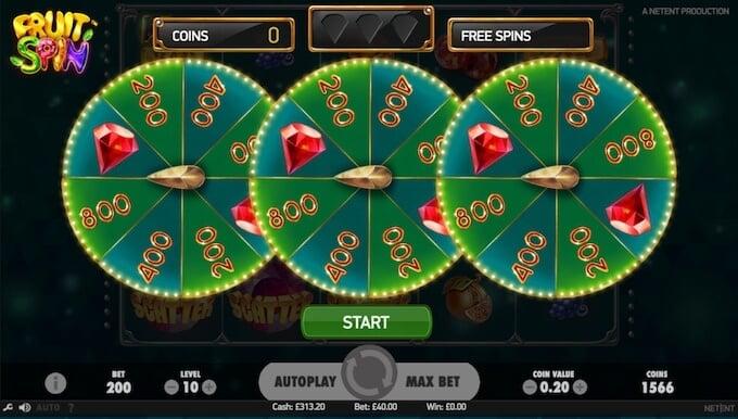 Fruit Spin slot Lucky Wheels