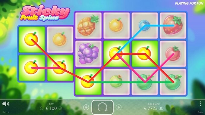 Fruit slot features