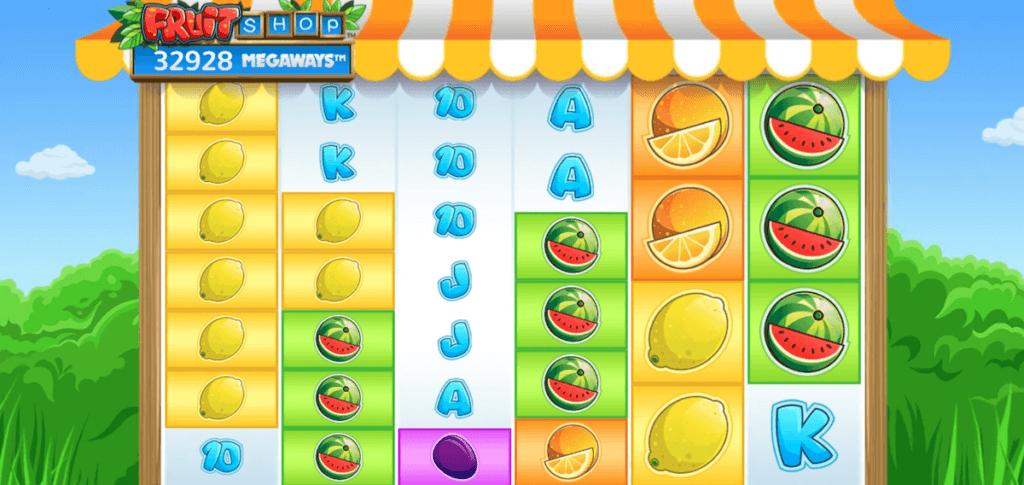 Fruit shop megaways slot