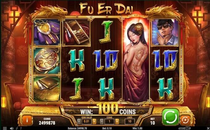 Play Fu Er Dai slot