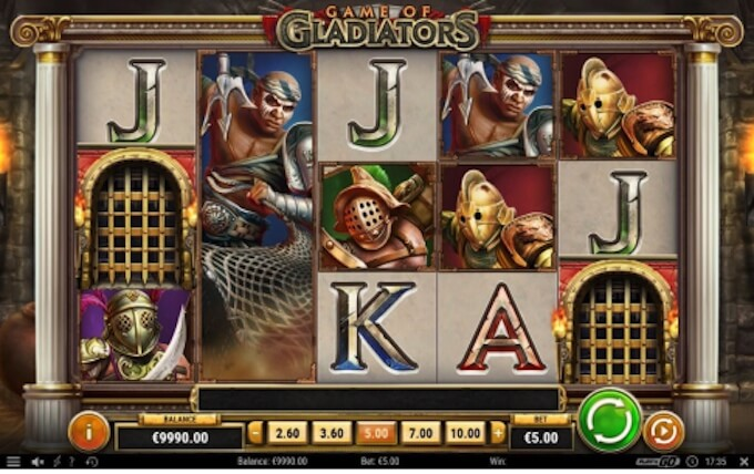 Game of Gladiators slot Play N Go