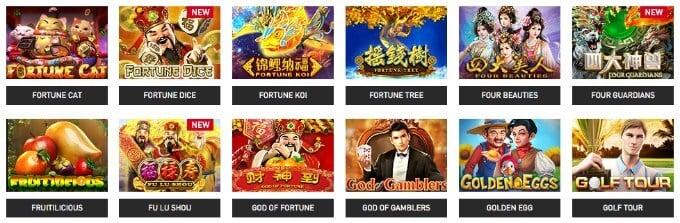 Gameplay Interactive slots
