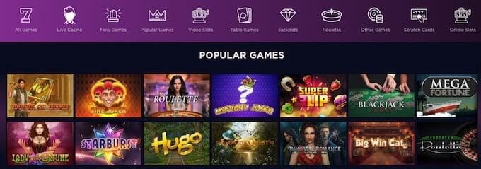 Genesis casino reviews - games