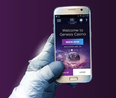 Genesis Casino on mobile