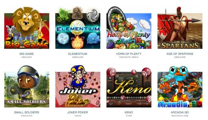 Genii games and slots