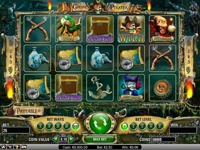 Play Ghost Pirates slot at Casumo Casino