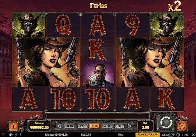 Golden Colt slot furies feature