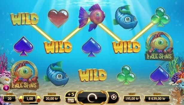 Play Golden Fish Tank slot at VideoSlots casino