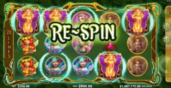 Play Goldwyn's Fairies slot at Dunder Casino