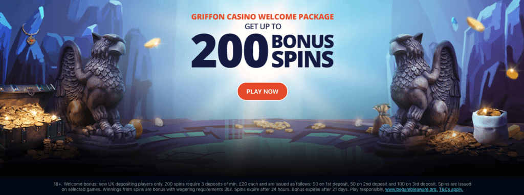 Griffon Casino Welcome Package