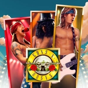 Guns n'roses slot game design