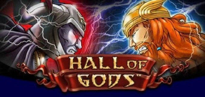 Play Hall of Gods slot on Casumo casino