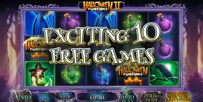 Play Halloween Fortune II slot at ComeOn casino