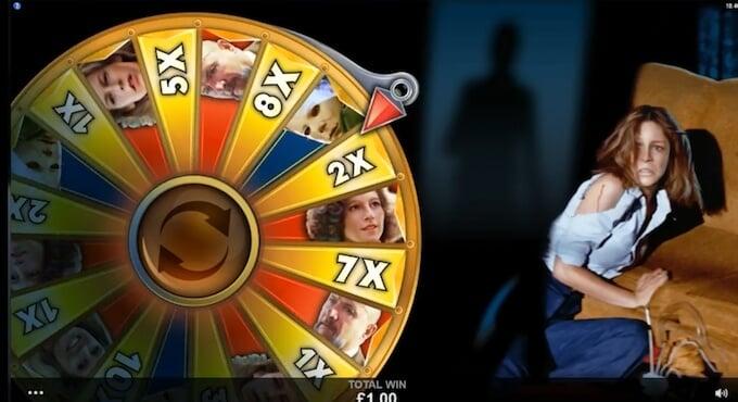 Halloween slot trick or treat wheel