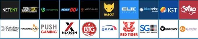HighRoller casino game providers