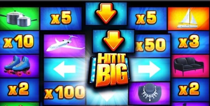 Hit It Big slot bonus game
