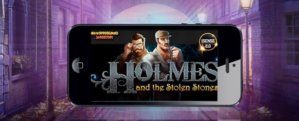 Play Holmes and the Stolen Stones slot on Betsafe casino