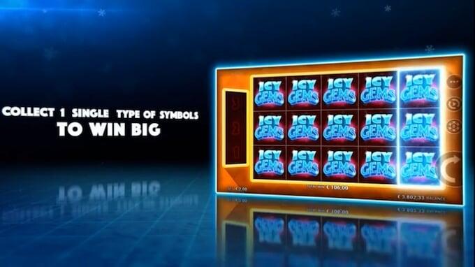 Icy Gems slot big win