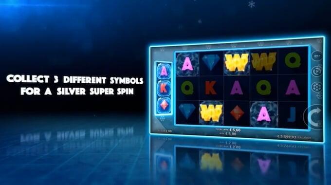 Icy Gems slot Symbol Storage feature