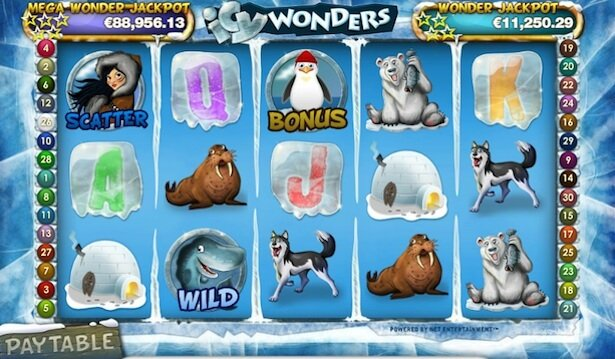 Play Icy Wonders at Casumo casino