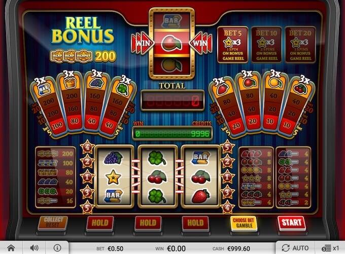 Reel bonus slot - Imagina Gaming