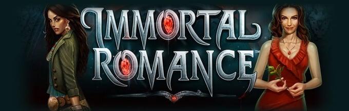Play Immortal Romance slot on Guts casino
