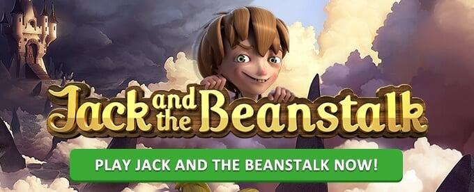 Play Jack and the Beanstalk NetEnt slot on Instacasino