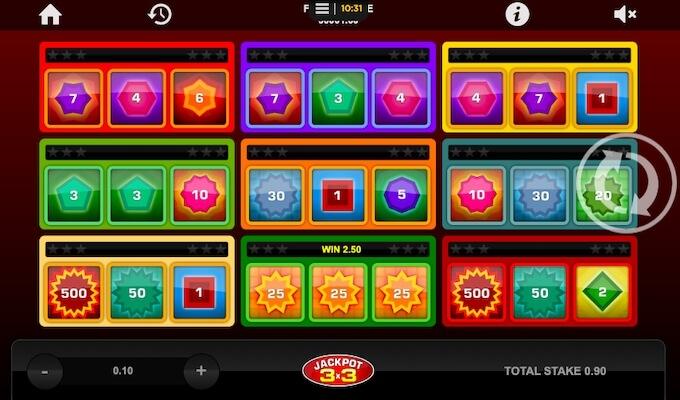 Jackpot 3x3 slot