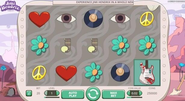 Play Jimi Hendrix slot on LeoVegas casino