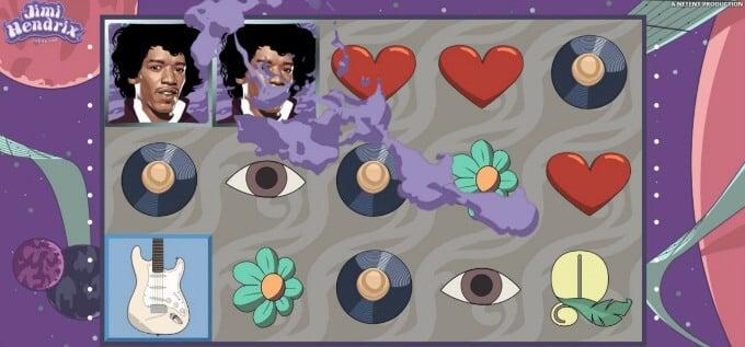 Play Jimi Hendrix slot on Betspin casino