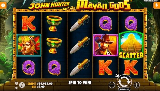 John Hunter and the Mayan Gods slot review