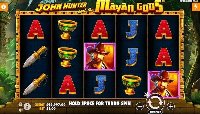 John Hunter and the Mayan Gods by Pragmatic Play