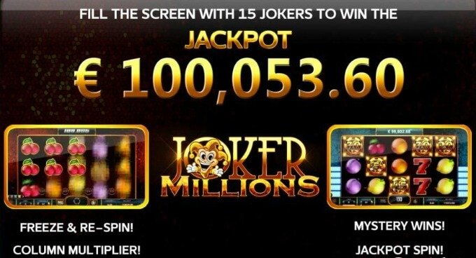 Play Joker Millions at Maria Casino