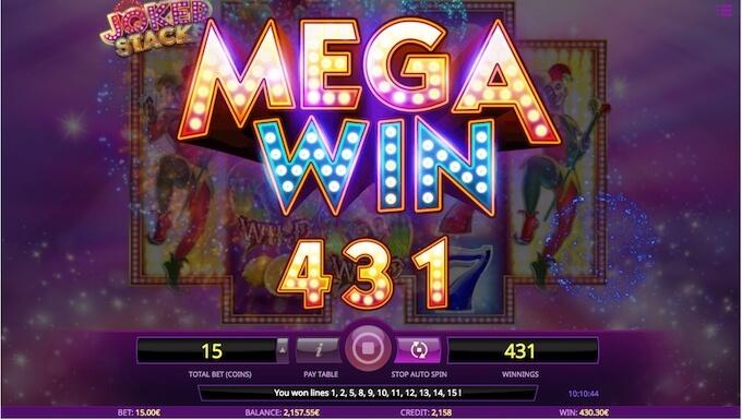Joker Stacks slot mega win