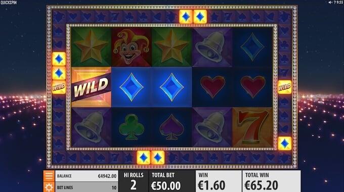 Joker Strike slot wild symbols
