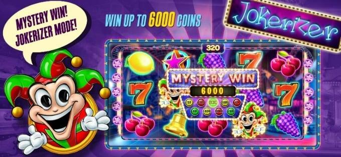 Play Jokerizer slot at ComeOn Casino